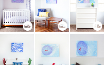 From The Womb To Your Room! Umbilical Cord Art