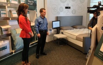 """Hey Baby, What's Your Number?"" (Win a Sleep Number m7 Bed!)"