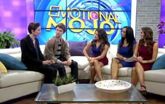 Divergent Author Veronica Roth And Star Ansel Elgort Talk About The Movie And Share A NEW Clip!