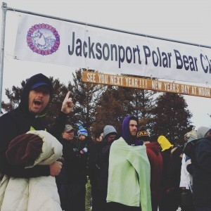 It's happening in 15 minutes! #polarbearplunge #its25degrees
