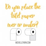 Over or Under with the toilet paper? I warn youhellip