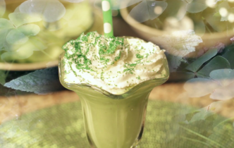 Recipe: Healthy Shamrock Shake